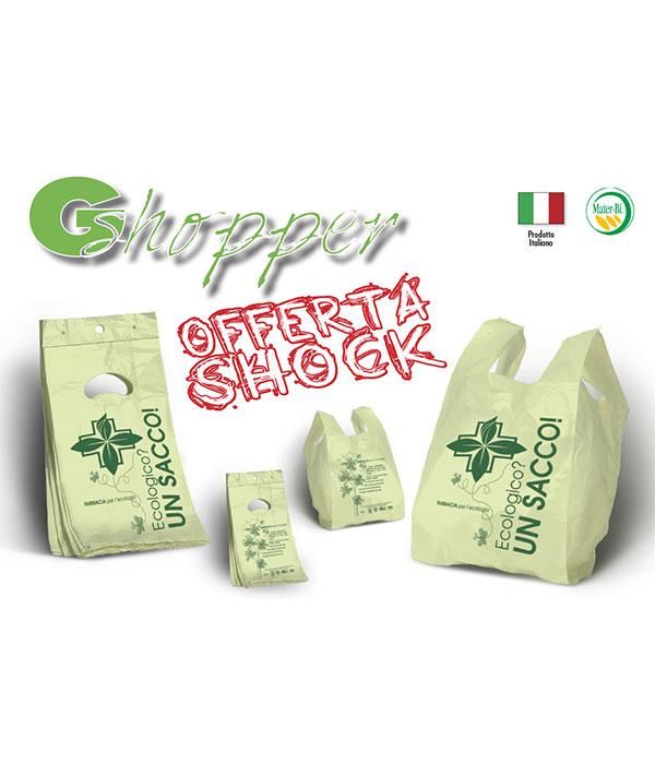 Sacchetti biodegradabili in offerta